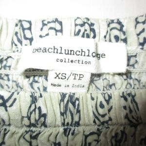 beachlunchlounge Tops - Beachlunchlounge Paisley Off-Shoulder Top XS